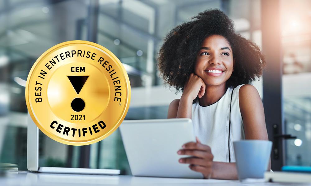 Best in Enterprise Resilience Certification Program
